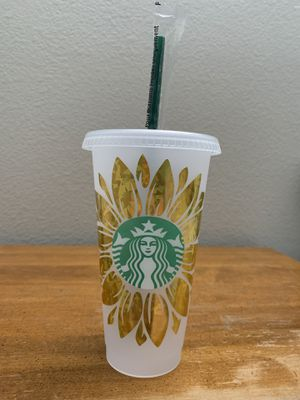 Starbucks Reusable Tumbler Cup - Sunflower for Sale in Ontario, CA