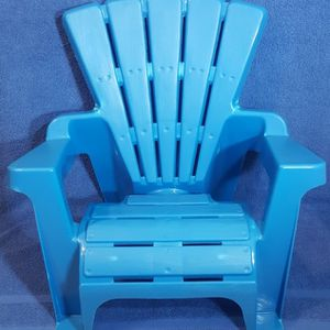 Little Tykes Indoor/Outdoor Blue Chair & Red Beach Lounge Chair (New) for Sale in Easley, SC