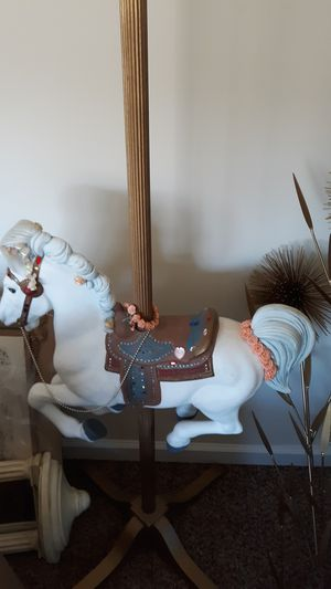 Decorative Carousel Horse Encrusted w jewels for Sale in Martinsburg, WV