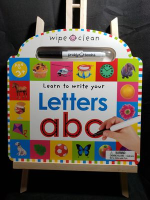 Wipe clean learn to write your letters for Sale in South Zanesville, OH