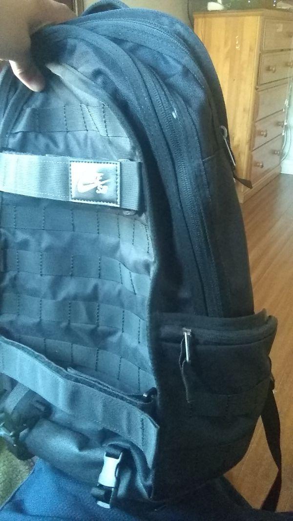 Nike sb black backpack