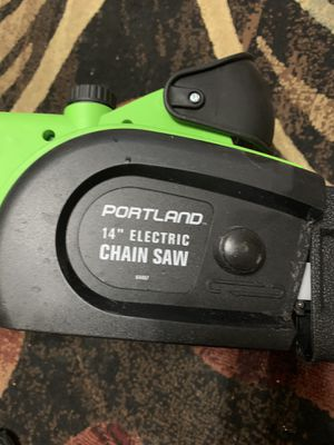 Portland electric chainsaw for Sale in Bingham Canyon, UT