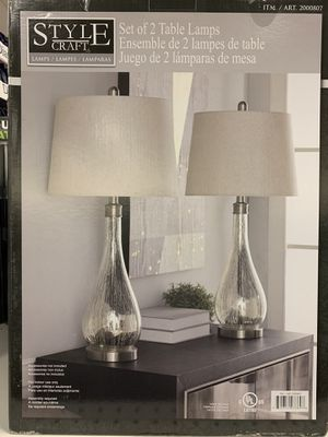 2 Lamp Set for Sale in Memphis, TN