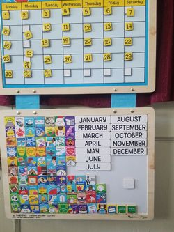 MAGNETIC MONTHLY CALENDAR ***Learn At Home for Sale in Everett,  WA