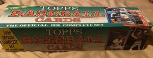 1990 Topps Baseball Cards The Official Complete Set 792 Cards MLB for Sale in Aliquippa, PA