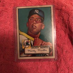 Mickey Mantle RC 1952 Baseball Card Topps for Sale in Las Vegas,  NV