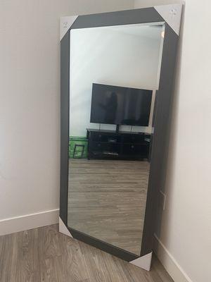 Tall Grey Mirror for Sale in Corona, CA