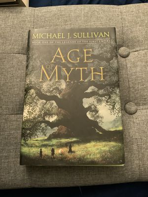 Age of Myth - Hardcover Book for Sale in Riverview, FL