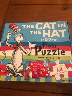 Cat in the hat puzzle - dr Seuss - preschool , homeschool. for Sale in Buckeye, AZ