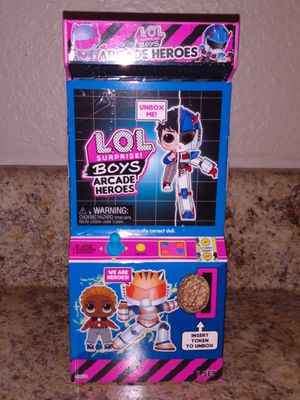 ✨NEW✨LOL Surprise ✨ Arcade Hero's ✨ Claw ✨ for Sale in Puyallup, WA