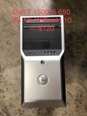 Computer tower workstation i5 i7 4g 500g win10 for Sale in Los Angeles, CA