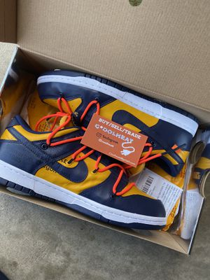 Nike Off-white Michigan Dunks for Sale in Fresno, CA