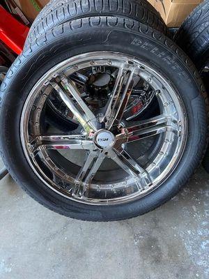 Clean wheels 22s for Sale in Santa Ana, CA