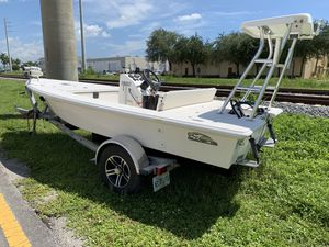 Eagle 1600 Pro Series Flats boat hull for Sale in Hollywood, FL