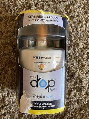 Whirlpool EveryDrop Water and Ice Refrigerator Water Filter 8 EDR8D1 for Sale in Bakersfield, CA