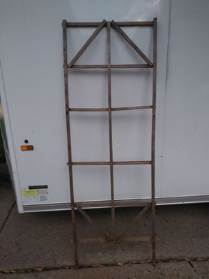 Handmade solid wood trellis is ready to be picked up for Sale in Sterling Heights, MI