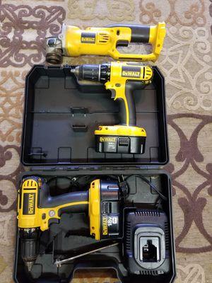 Dewalt 18v drills and angle grinder for Sale in Warwick, RI