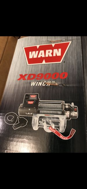 Brand new warn winch! for Sale in Wood Village, OR