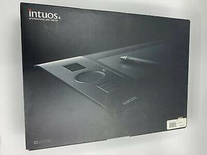 Wacom INTUOS4 PTK-440 Tablet with USB Cable & Wireless Grip Pen Mouse with box for Sale in Salt Lake City, UT