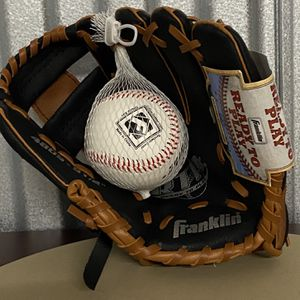Base Ball Glove And Baseball for Sale in Palatine, IL
