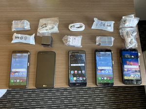 ZTE/LG Smartphones $40 Per Phone for Sale in Silver Spring, MD