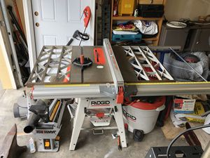 Ridgid Table Saw for Sale in Portland, OR