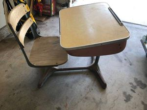 Vintage Student Desk (Anaheim) for Sale in Anaheim, CA