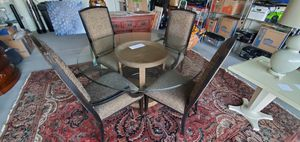 Glass-top Table and Chairs for Sale in Surprise, AZ