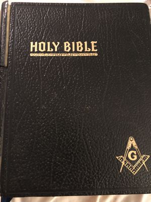 10x3x12 1970s vintage MASON HOLY BIBLE. 35.00. 212 north main Buda. Antique vintage furniture sterling silver jewelry collectibles for Sale in Buda, TX