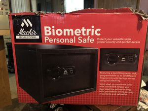 Biometric personal safe for Sale in Walden, NY