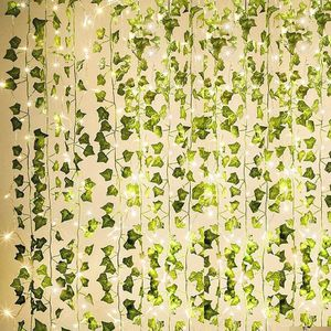 84Ft 12 Pack Artificial Ivy Garland Fake Plants Home Party Wedding Decor for Sale in Los Angeles, CA