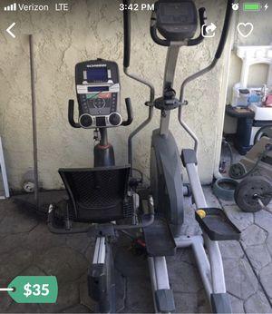 Work out bike and Elliptical for Sale in Santa Clara, CA