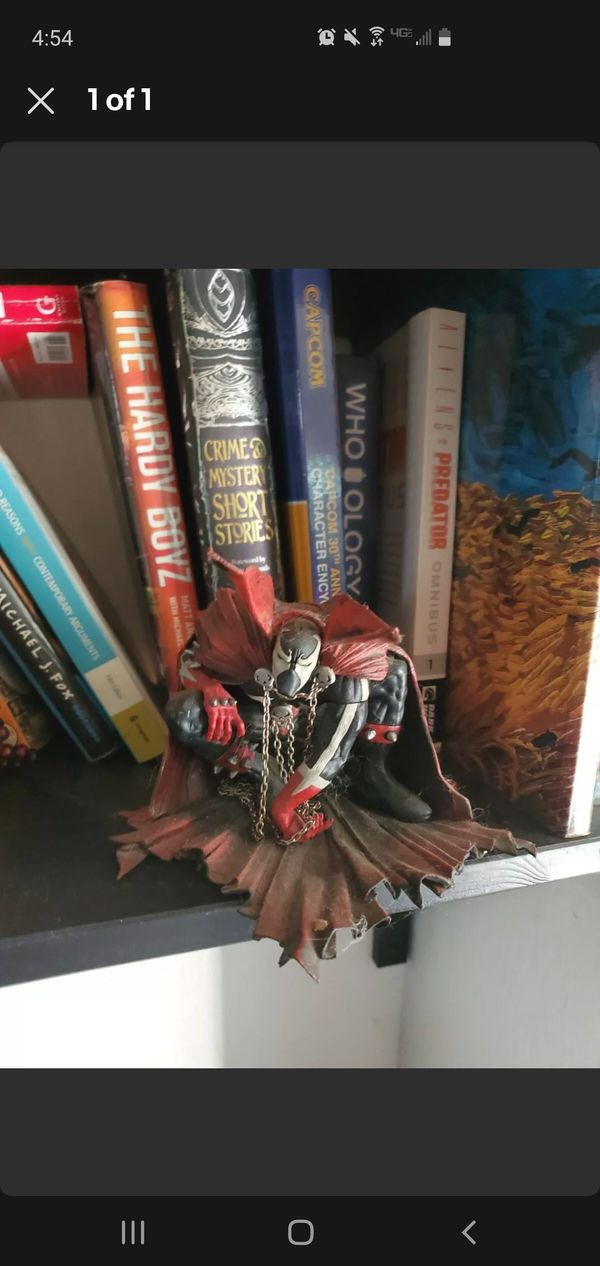 THE ART OF SPAWN SERIES 26, Issue 8 cover art figure