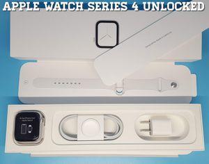Apple Watch Series 4 (Unlocked) GPS + Cellular (44M) Like-New for Sale in Arlington, VA