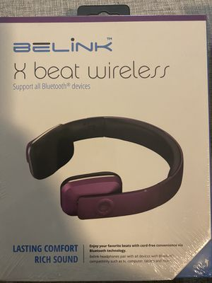 Belink x-Beat Wireless Headphones for Sale in Lakeland, FL