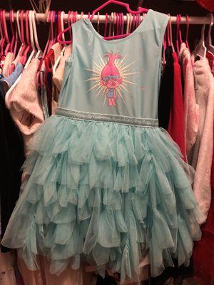 TROLLS DRESS 👗 SIZE 5t for Sale in Prospect Heights, IL