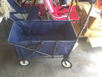 Carrying Blue Beach Cart for Sale in Cape Coral,  FL