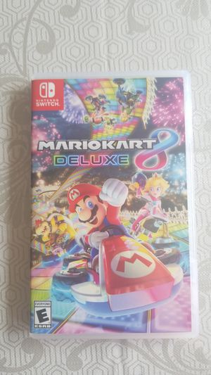 Mario kart 8 deluxe ( Nintendo switch) for Sale in Gaithersburg, MD