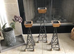 Decorative candle holders for Sale in Lorain, OH