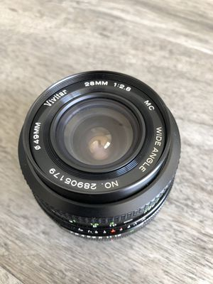Vivitar 28mm f/2.8 wide angle lens for canon for Sale in Tampa, FL