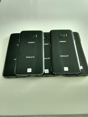Samsung Galaxy S7 great shape 32GB factory unlocked wholesale lot of 5 phones for Sale in North Miami Beach, FL
