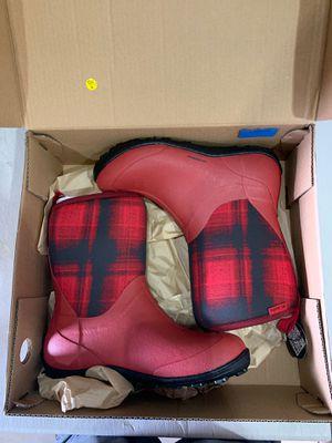 Columbia Snowpow mid print women's size 10 snow rain boot for Sale in Rancho Cucamonga, CA