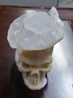 Unique Crystal Cluster Skull for Sale in Philadelphia, PA