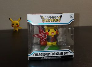 A Day With Pikachu Funko - CHARGED UP FOR GAME DAY $30.00 for Sale in San Diego, CA