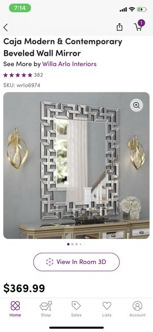 Large Wall Mirror for Sale in Garrison, MD