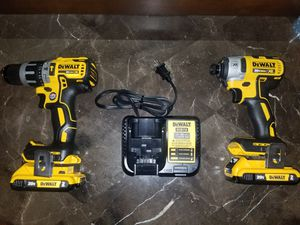 20-Volt MAX XR Lithium-Ion Cordless Brushless Drill/Impact Combo Kit (2-Tool) with (2) Batteries 2Ah, Charger and Bag for Sale in Austin, TX