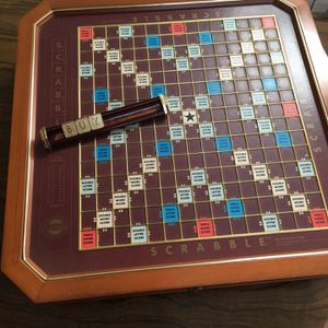 Scrabble Game Collectors Set for Sale in Fullerton, CA
