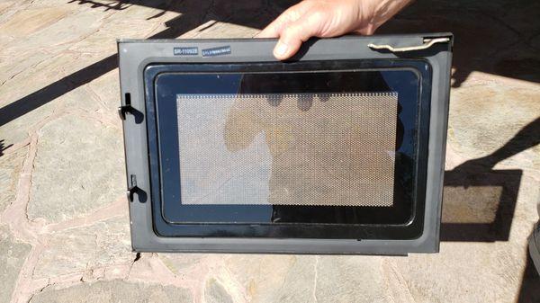 Sylvania RV microwave door