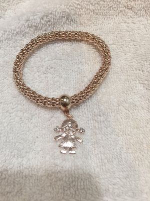 Bracelet girl charm for Sale in Perris, CA