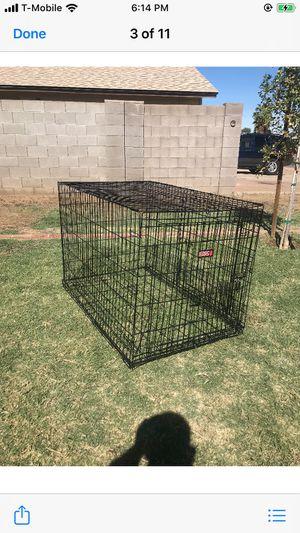 Dog cage 30W x 32H x 48L for Sale in Phoenix, AZ